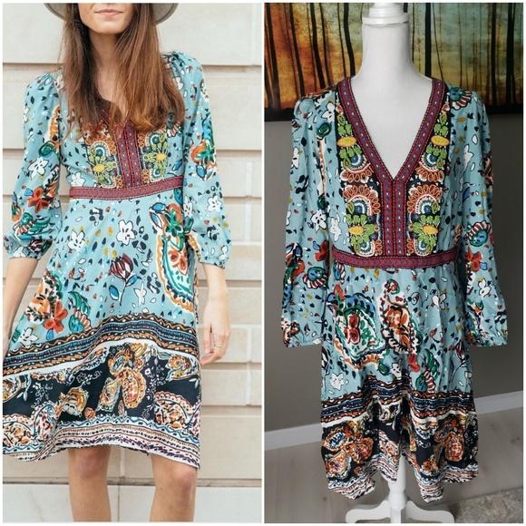 f0701aa2b0568 Anthropologie Dresses | Akemi Kin Beaded Karmina Dress | Poshmark
